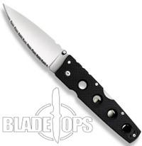 Cold Steel Hold Out II Folder Knife, Serrated Edge, 11HLS