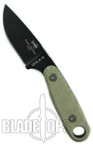 ESEE Knives Izula II Survival Knife, Black
