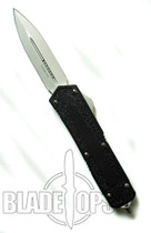 Microtech Scarab Double Action, OTF, Bead Blast Plain Blade, D/E, MT110-7