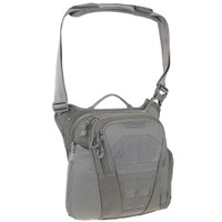 Maxpedition VLDGRY AGR Veldspar Crossbody Shoulder Bag, Grey