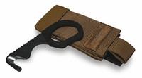 Benchmade 7 Hook/ Safety Cutter, Sand Sheath, 7BLKWSN