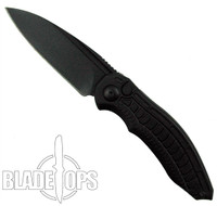 Brous Blades Blackout Bionic Automatic Knife, Black Blade