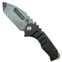 "Medford Knife & Tool MK29DVT-30PV Praetorian Genesis ""T"" PVD Titanium Titanium Folder Knife, D2 Vulcan Blade"