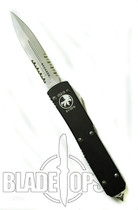 Microtech Ultratech OTF Knife, Bead Blast P/S Blade, MT122-8
