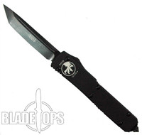 Microtech Tactical Ultratech OTF Knife, Black Tanto S/E Blade, MT123-1T
