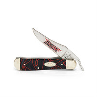 Case Harley-Davidson Lava Kirinite RussLock Knife