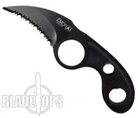 "Fury Tactical CLAW 6.5"" Neck Knife, Serrated"