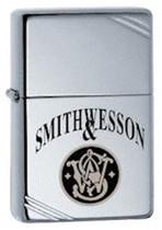 Smith & Wesson Vintage w/ Slashes Zippo Lighter