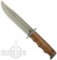 Browning Black Label Point Blank Leather Fixed Blade Knife