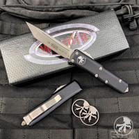 Microtech 233-10AP UTX-85 T/E OTF Auto Knife, Apocalyptic Stonewash Blade