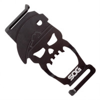 SOG BT-1001 Bite Bottle Opener Tool, Black Finish