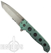 Custom Loki Tool Seafoam Green Anodized CRKT M16-14T Carson Big Dog Folder Knife