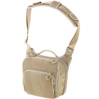 Maxpedition LCRTAN AGR Lochspyr Crossbody Shoulder Bag, Tan