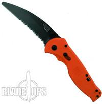 SOG Orange Flash II Rescue Assisted Knife, TiNi Combo Blade, OTFSA-6