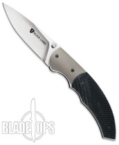 Browning Black Label G10 Turning Point Linerlock Knife, Drop Point Blade