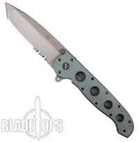 Custom Loki Tool Blue Anodized CRKT M16-14T Carson Big Dog Folder Knife