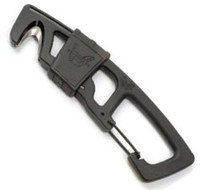 Benchmade 9CB Safety Hook with Carabineer, Black