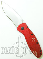 Kershaw Orange County Choppers Blur Spring Assisted Knife by Ken Onion, Plain Edge, KS1670OCC