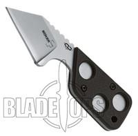 Boker Plus CLB Microcom Knife, Satin Plain Blade, BO021