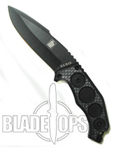 KA-BAR FIN Fixed Blade Knife, Drop Point, KA5554