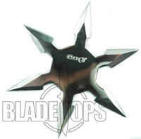 Fury Bright Star Six Point Shuriken, 4.25""