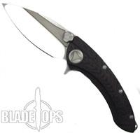 Microtech Custom Whale Shark Flipper Knife, High Polish Blade
