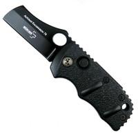 "Boker Sub Kalashnikov Cleaver Auto Knife, 1.95"" Black Blade"