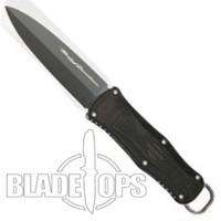 Benchmade Harley Davidson 13400BK Nightshift Fixed Blade Knife, Black Plain Edge