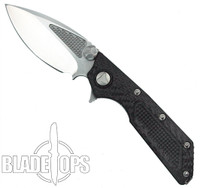 Microtech Custom DOC Flipper Knife, Satin Blade
