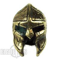 LionARMory Spartan Marine Brass Lanyard Bead with Green Patina