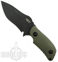 Zero Tolerance Strider Fixed Blade, Black Plain Edge, Salesman Sample