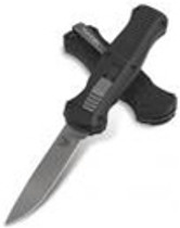 Benchmade 3310 Infidel OTF (McHenry Design), Single Edge Plain Blade