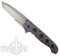 Custom Loki Tool Purple Anodized CRKT M16-14T Carson Big Dog Folder Knife