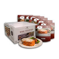 Wise Food Storage Wise Favorites 14 Servings Outdoor Food Kit