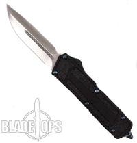 Microtech Marfione Custom QD Scarab OTF Knife, Dual Edge Stonewash Plain