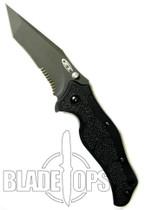 Zero Tolerance 0400ST Scavenger Assist Knife, Black Part Ser. Tanto Blade