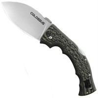 Cold Steel Colossus I Folder Knife, CTS-XHP Satin Blade