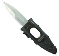 Schrade Side Assist Viper Knife, Stonewash Bayonet Point Blade