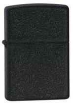 Zippo Black Crackle Lighter, Zippo 236