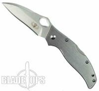 Vault Lockback Knife, Stainless Steel, Plain Edge