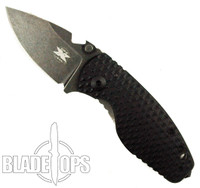DPx Gear HEAT/F Elmax Lock Knife, Grey Stonewash Blade