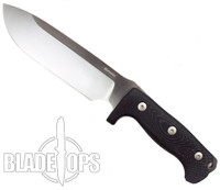 LionSteel M7 Hunting Fixed Blade Knife, Satin Blade