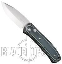 Bear OPS AC-100-B4-P Automatic Knife, Bead Blast Plain Blade