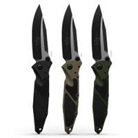 Microtech 160-11OD OD Green Socom Elite S/E Folder Knife, Stonewash Combo Blade