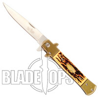 The General Spring Assist Knife, Faux Bone Handle