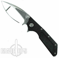 Microtech Custom DOC Flipper Knife, Mirror Blade