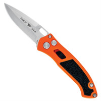 Buck 0898ORS Safety Orange/Black Impact Auto Knife, CPM-S30V Satin Blade