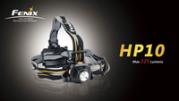 Fenix HP10 LED Black Headlamp, 225 Lumens