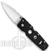 Cold Steel Hold Out III Medium Folder Knife, Plain Edge, 11HM