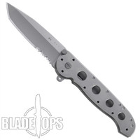 CRKT M16-14T Carson Big Dog Folder Knife, Titanium Handle, Tanto Combo Blade